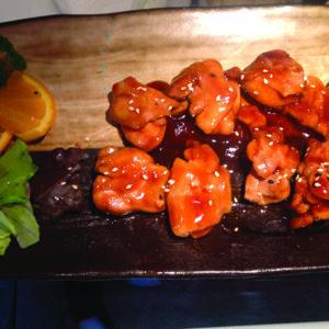Pollo grigliato con salsa teriyaki