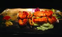 Spiedini di pesce misto alla griglia