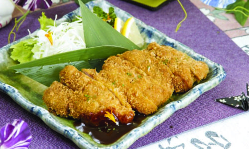 Cotoletta di pollo fritto