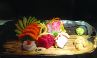 Tonno, salmone, branzino, orata - 12 pezzi