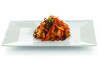 insalata di calamari, alghe e zenzero (legg. piccante)